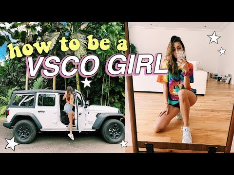 how to become a VSCO girl *basic AF*