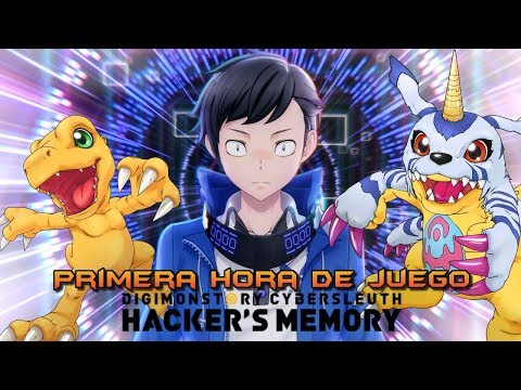 Digimon Story: Cyber Sleuth Hacker's Memory: Primera hora de juego (Gameplay) PS4