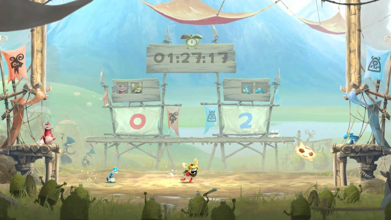 <b>Rayman</b> Legends — геймплейный трейлер - YouTube