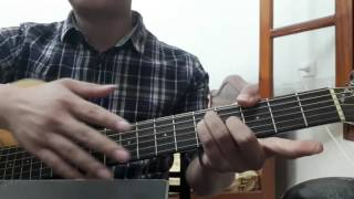 """Guitar hướng dẫn: Đệm hát """"Thềm nhà có hoa"""" - ST: Thanh Tâm - giới thiệu hợp âm dây buông"""