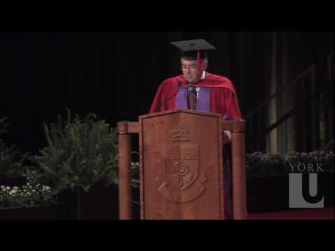 Joseph Sorbara, Honorary Doctor of Laws Award - Part 1/2