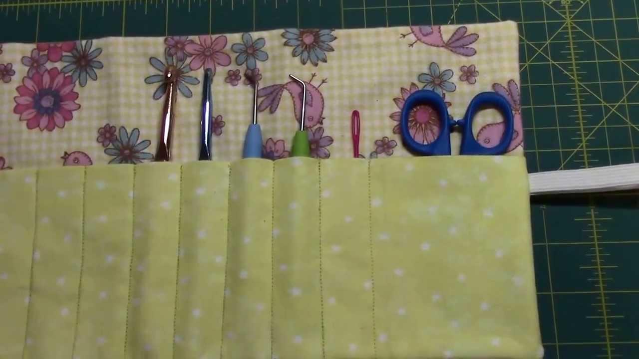 Diy Crochet Hook Case Giveaway Youtube