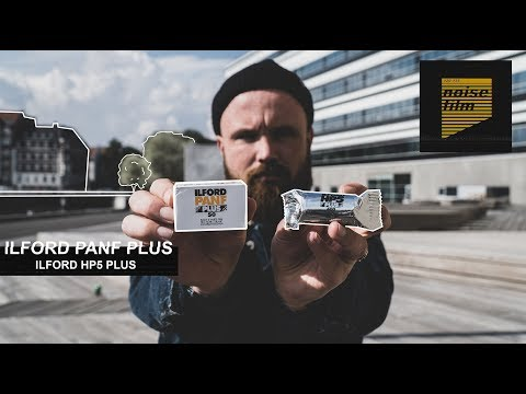 ISO 50 vs. ISO 400 - 35mm film (subtitles)