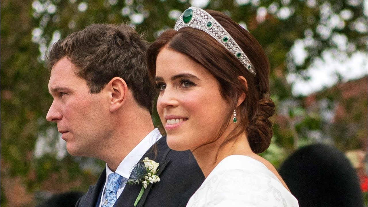 Princess Eugenie marries in big royal wedding #1