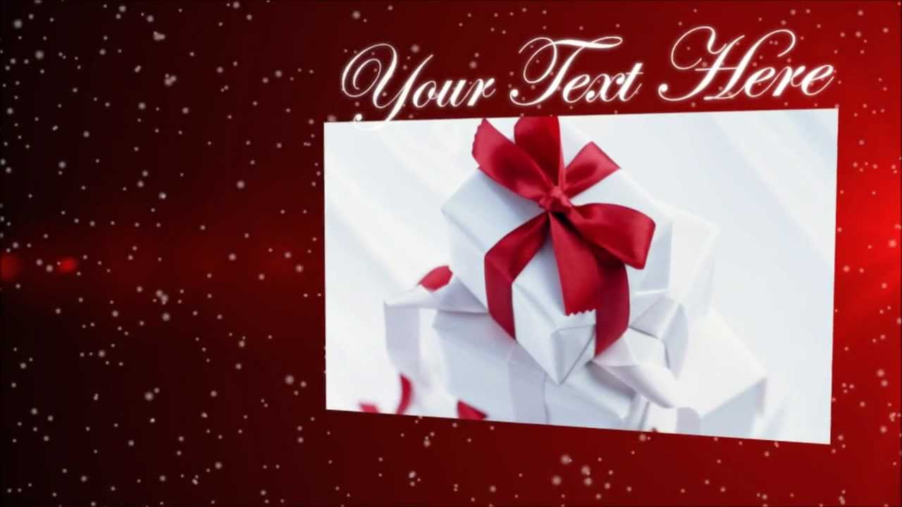 christmas after effects template hd christmas after effects template hd