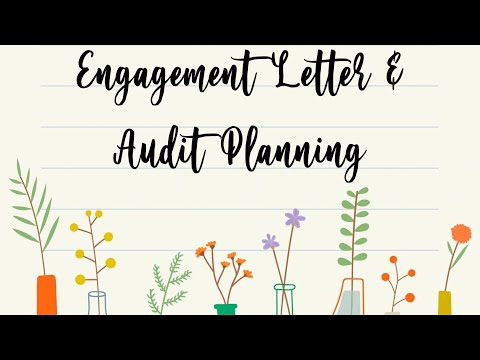 ENGAGEMENT LETTER & AUDIT PLANNING