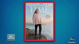 Trump Mocks Greta Thunberg | The View