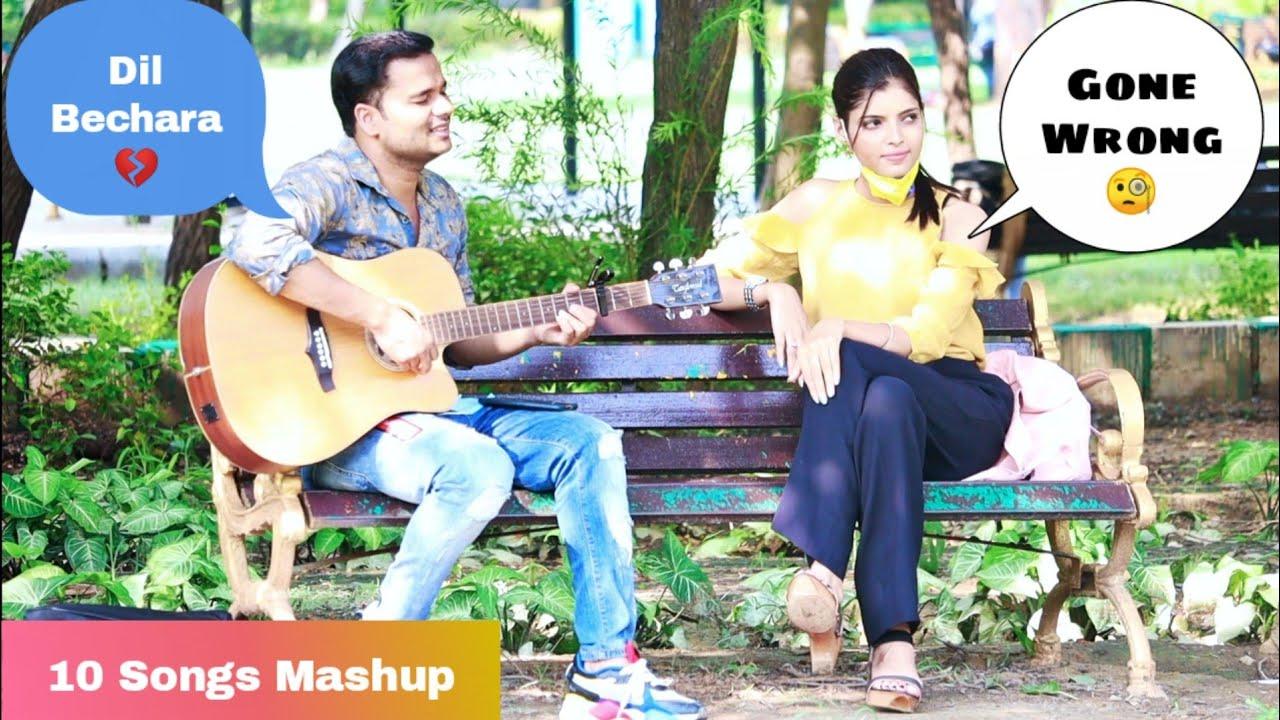 Dil Bechara Song Special Randomly Singing Reaction Prank (Gone Wrong)   Siddharth Shankar
