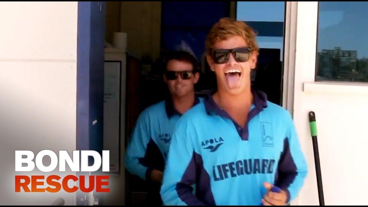 New Trainee Harrison From New Zealand Bondi Rescue S9 Youtube