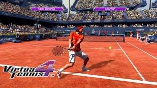 Virtua Tennis 4 - Arcade mode very hard - Nadal