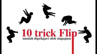 10 Trick Parkour terMudah bisa utk siapa saja