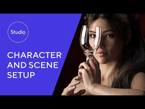 Daz 1.2: Character and Scene Setup
