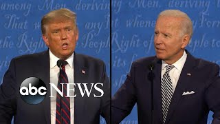 ABC News Live Update: Reactions pour in after contentious presidential debate