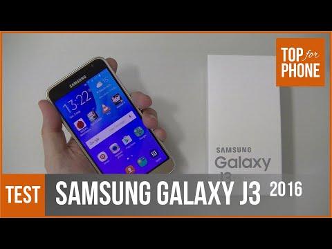 SAMSUNG GALAXY J3 (2016) - test par TFP