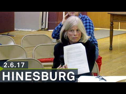 Hinesburg Selectboard: February 6, 2017