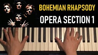 HOW TO PLAY - Bohemian Rhapsody - by Queen (Piano Tutorial Lesson) [PART 4]