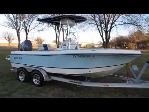 Polar 2000 Center Console, Bay Fishing Boat, Yamaha Four Stroke Power