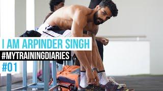 Training diaries of Arpinder Singh #newepisode #triplejump