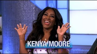 Thursday on 'The Real': Kenya Moore, Brian Tyree Henry