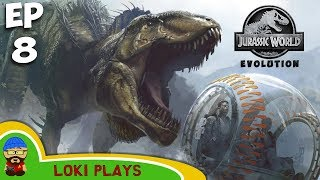 Jurassic World Evolution EP 8 - Second Island - WHAT HAVE I DONE!