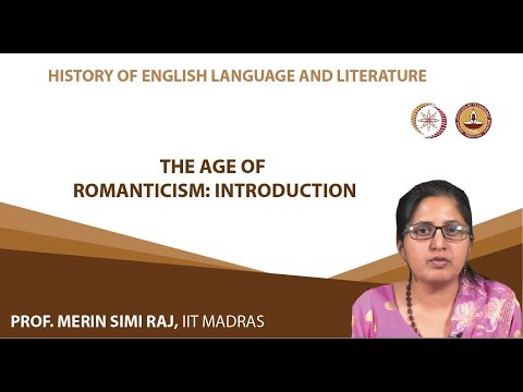 Lecture 15 - The Age of Romanticism: Introduction