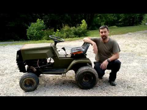 Old Riding Mower into a ATV Part 2: Lets Take A Ride!