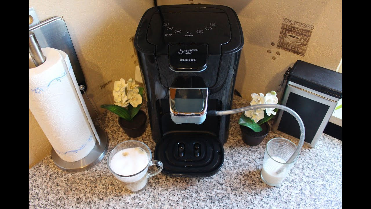 senseo latte duo hd7857 50 demo youtube. Black Bedroom Furniture Sets. Home Design Ideas