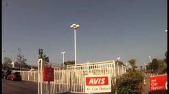 LA/Ontario International Airport (ONT) - Finding Your Way to the Avis Car Rental Counter