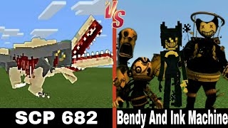 Download SCP 682 vs. Bendy and the Ink Machine | Minecraft (INTENSE!) Mp3 and Videos