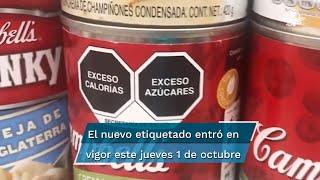 """Tras un largo proceso para su aprobación y la oposición de algunas empresas, México cuenta ya con un nuevo etiquetado de alimentos que es """"un ejemplo para el mundo"""", según la OPS"""