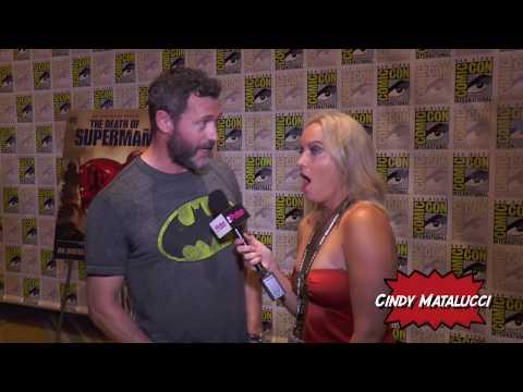 Jason O'Mara Death of Superman on The Pulse Comic Con 2018