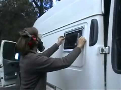 Episode 3 Insulation Windows And Hatch Claude Hay Converting Van To Motorhome