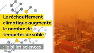 Le réchauffement climatique va augmenter le nombre de tempêtes de sable