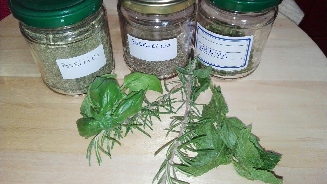 Come Seccare Le Piante come essiccare le erbe aromatiche 🌿🌿