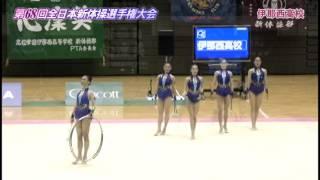 2015全日本新体操女子団体種目別決勝-クラブ6+フープ2