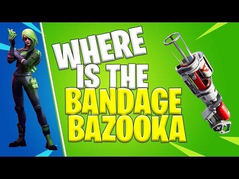 WHERE IS BANDAGE BAZOOKA? | Fortnite Chapter 2
