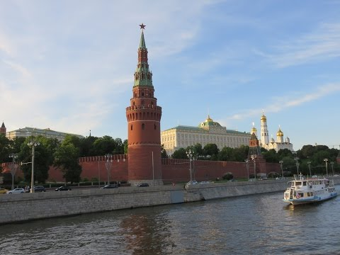 The Moscow Kremlin: 800 year of history inside single fortress.