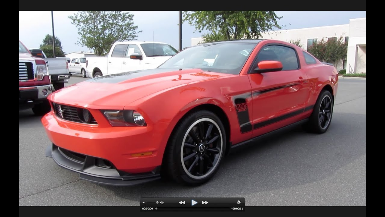 2012 ford mustang boss 302 start up exhaust and in depth tour