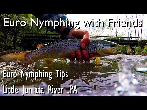 WBD - Little Juniata River PA Euro Nymphing With Friends