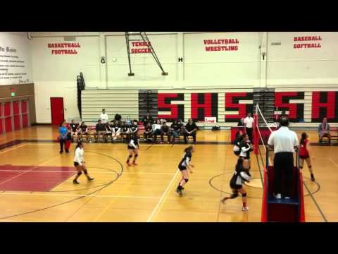 Brittany Aledo 2016 Volleyball Recruiting Video