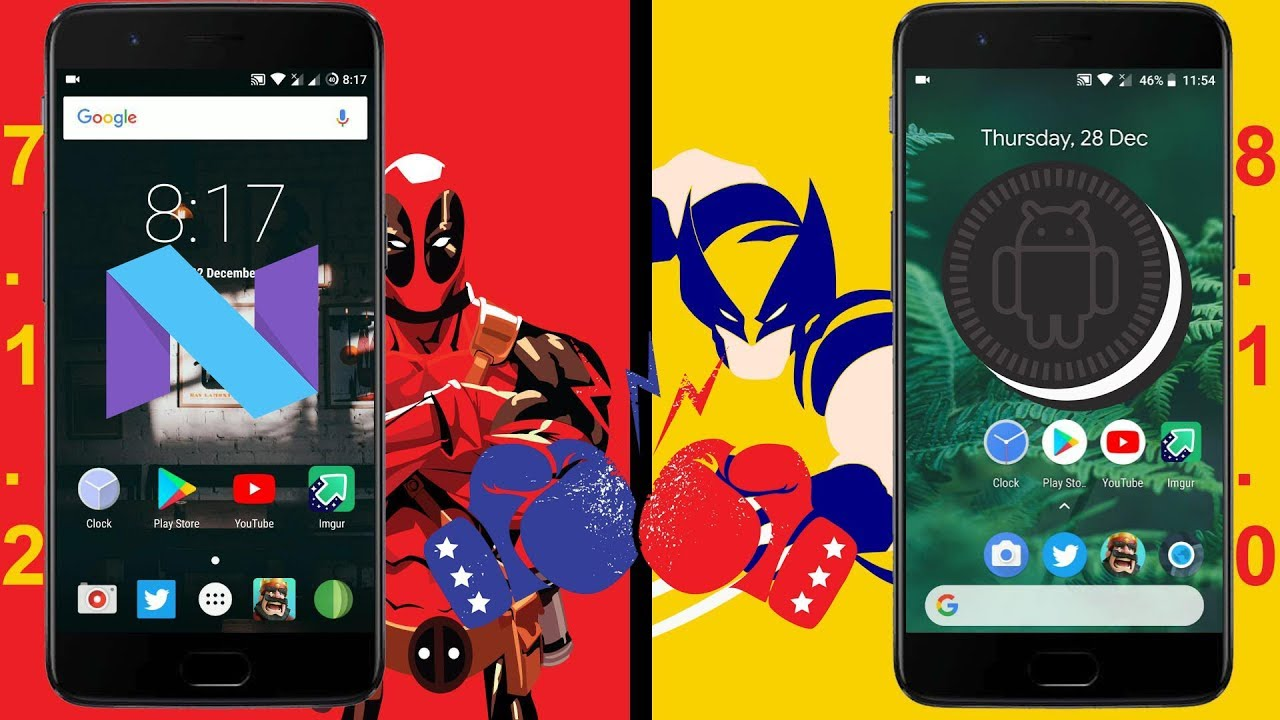 android comparaison