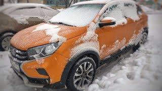 Как Едет Xray Cross По Снегу? Секрет Lada Ride Select.