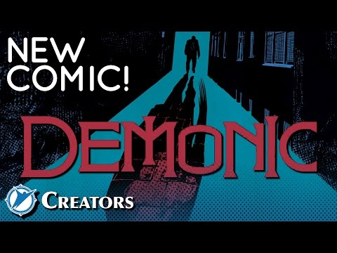 NEW COMIC! - Horror Crime Series DEMONIC!