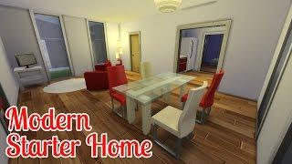 vuclip The Sims 4: House Building   Modern Starter Home (ITA)