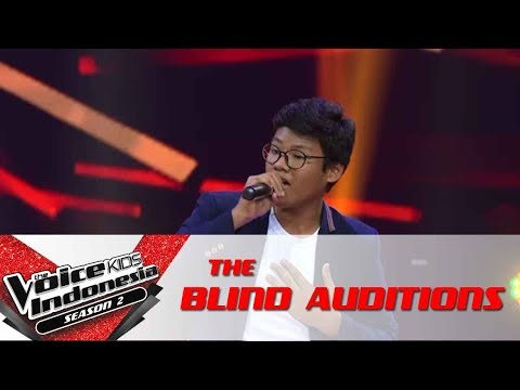 "Samuel ""Sunday Morning""   The Blind Auditions   The Voice Kids Indonesia Season 2 GTV 2017"