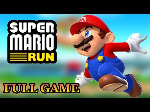 Super Mario Run 100% Gameplay (Full Game Walkthrough, All Pink, Purple & Black Coins)