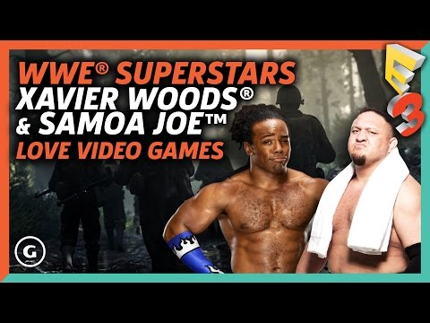 Why Xavier Woods and Samoa Joe Love Video Games | E3 2017 GameSpot Show
