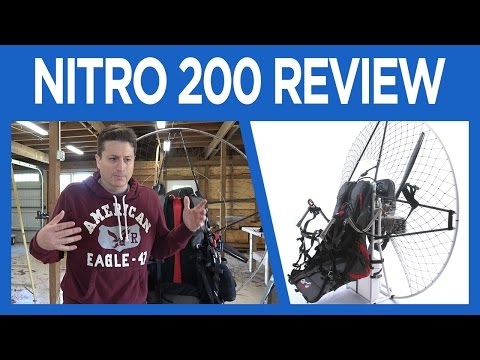 Air Conception Nitro 200 Review - Paramotor
