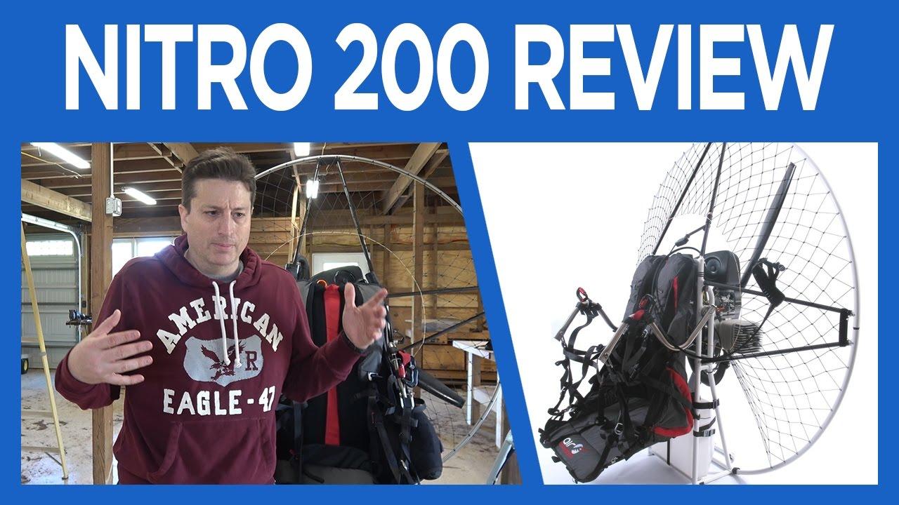 SCOUT Carbon Paramotor Moster 185 Plus Review | Carbon Fiber .