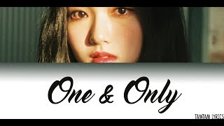 One and Only - Gowon(LOONA) Lyrics [Han,Rom,Eng] - Stafaband